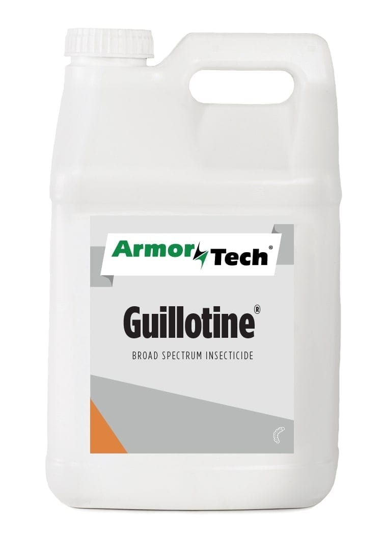 white bottle of Armortech Guillotine