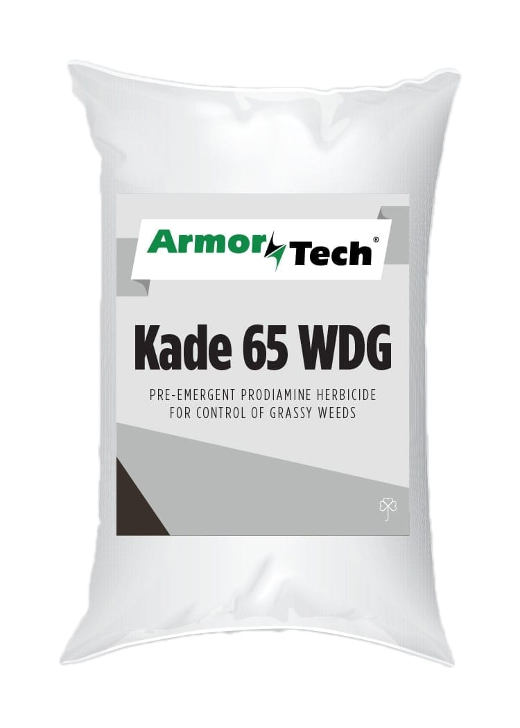 White bag of armortech kade 65 WDG