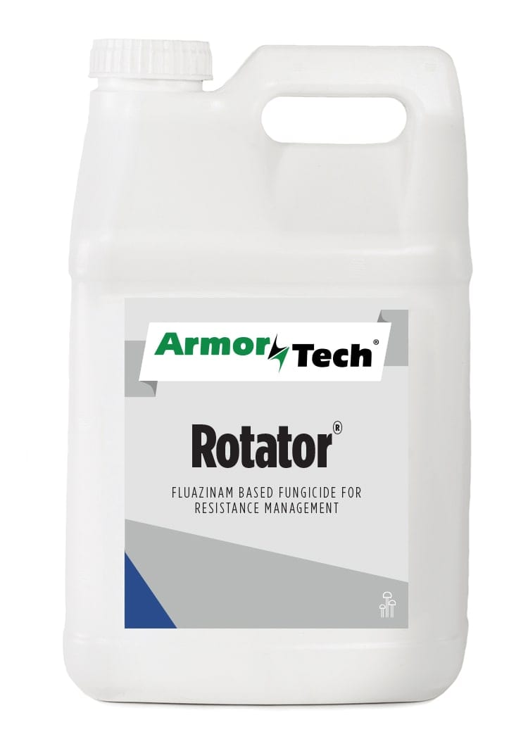 white bottle of Armortech rotator